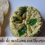 Olives pate with thermomix
