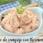Crab pate with thermomix
