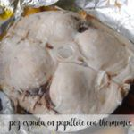 Swordfish in papillote with Thermomix