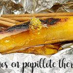 Bananas en papillote with Thermomix