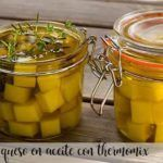 cheese in oil with thermomix