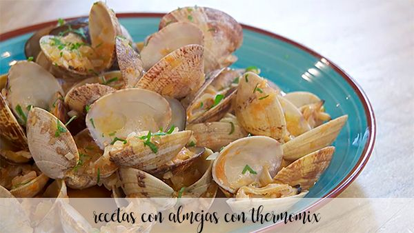 40 recipes with clams with thermomix