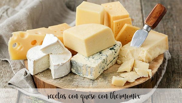 Recipes with Cheese with thermomix