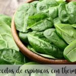 spinach thermomix recipes