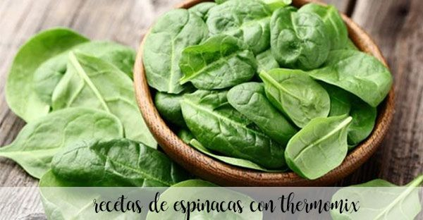 50 spinach thermomix recipes