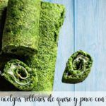 chard rolls stuffed with cheese and turkey with thermomix