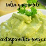 Guacamole with thermomix