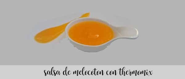 Peach sauce with thermomix