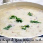 New England clam chowder with thermomix