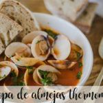 Clam chowder with Thermomix