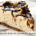 chocolate and caramel cheesecake with thermomix
