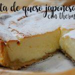 Japanese cheesecake with thermomix