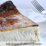 Goat cheese cake with Thermomix