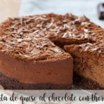chocolate cheesecake with thermomix