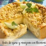 Cheese and apple cake with Thermomix