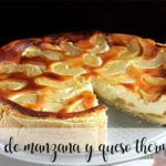 Apple and cheese cake with Thermomix