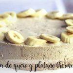 Thermomix banana cheesecake