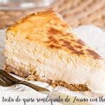 Zarina's semi-liquid cheesecake with thermomix
