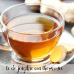 Ginger tea with Thermomix