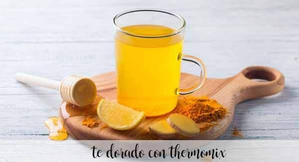golden tea with thermomix