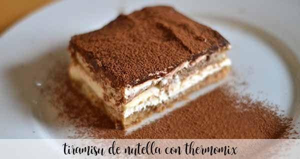 Nutella Tiramisu with Thermomix