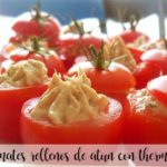 Tomatoes stuffed with tuna with Thermomix