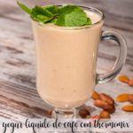 liquid coffee yogurt with thermomix