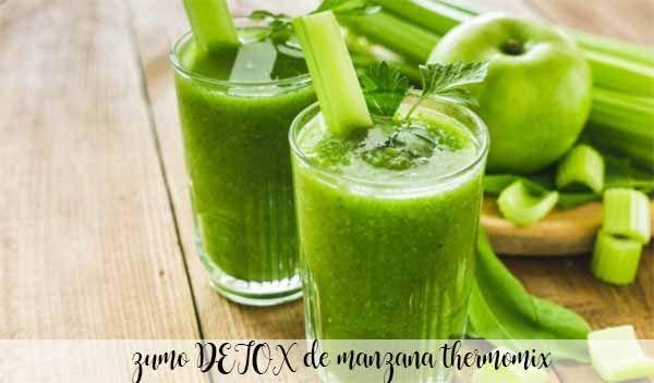 Thermomix apple detox juice