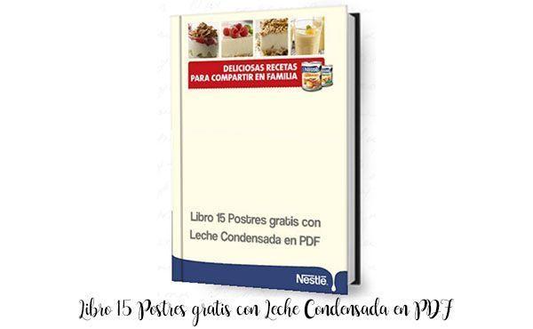Book 15 Free Desserts with Condensed Milk in PDF