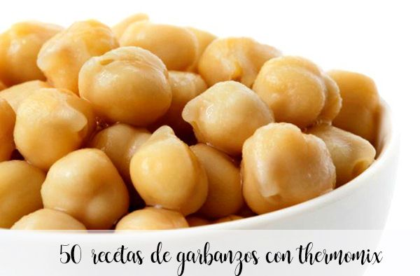 75 chickpea recipes with thermomix