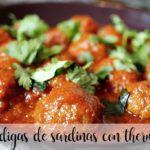 Sardine meatballs with Thermomix