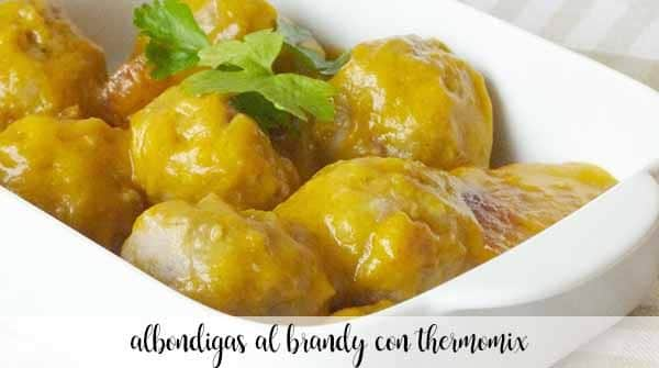 Brandy meatballs with Thermomix