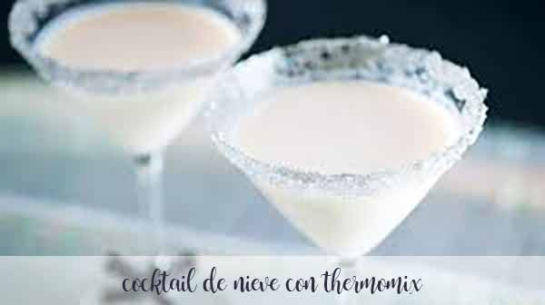 Snow cocktail with Thermomix