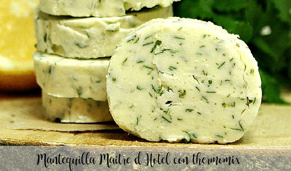 Maitre d Hotel butter with thermomix
