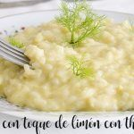 Risotto with a touch of lemon with thermomix