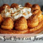 Saint Honoré cake with Thermomix