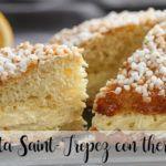 Saint-Tropez cake with thermomix