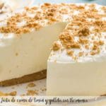 Lemon cream and biscuit cake with thermomix