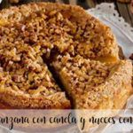 Apple pie with cinnamon and walnuts with Thermomix