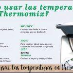 Correct use of the Thermomix temperatures