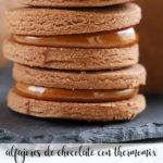 Chocolate alfajores with Thermomix