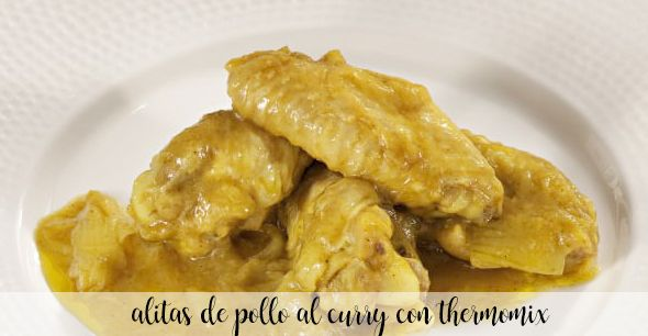 curry chicken wings with thermomix