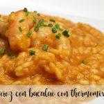 rice with cod with thermomix