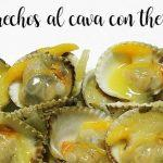 Cockles in cava with Thermomix