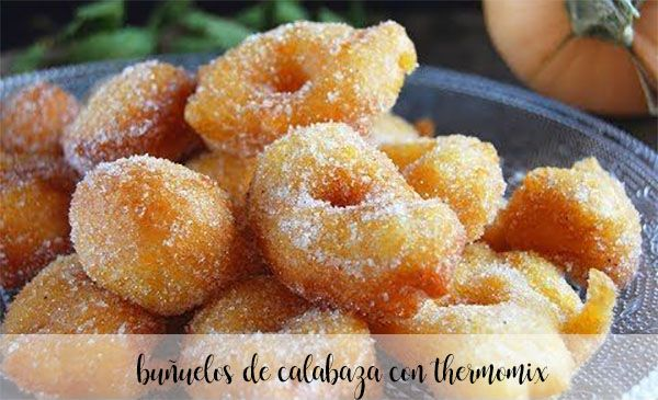 Pumpkin fritters with thermomix