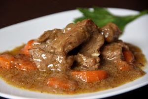 Meat in sauce with thermomix