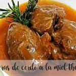 Honey pork cheeks with thermomix