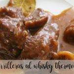 Cheeks with whiskey with Thermomix