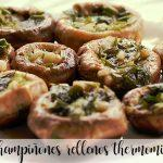 Mushrooms stuffed with Thermomix