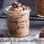 Chocolate chantilly with thermomix